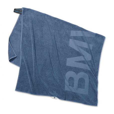 Оригинальное банное полотенце BMW Active Towel, Blue (80232446013)