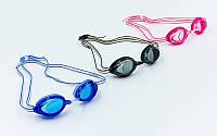 Очки для плавания детские Speedo Vanquisher Junior 8061750: поликарбонат, TPR, силикон (от 6 до 14 лет)