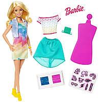 Кукла Барби дизайнер одежды Barbie Crayola Color Stamp Fashions Set