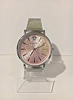 Женские наручные часы Versace (Версаче), серебристо-розовый цвет ( код: IBW011SP ), фото 1