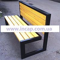 Скамейка Loft со спинкой