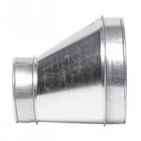 Переход вентиляционный металлический оцинкованный