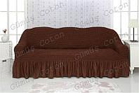 """Чехол на диван """"Venera""""  с оборкой (цветовая гамма в наличии)"""