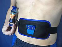 Массажер для похудения ABGYMNIC   Пояс для похудения +ГЕЛЬ, миостимулятор