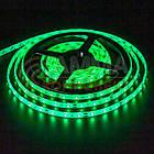 Светодиодная лента SMD 5050 (60 LED/м), зеленый, IP65, 12В бобины от 5 метров, фото 2