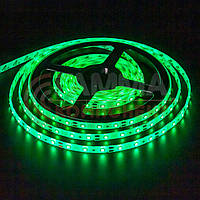 Светодиодная лента SMD 5050 (60 LED/м), зеленый, IP65, 12В бобины от 5 метров