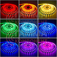 Светодиодная лента RGB AVT PROFESSIONAL SMD 5050 (60 LED/м), IP20, 12В - бобины от 5 метров