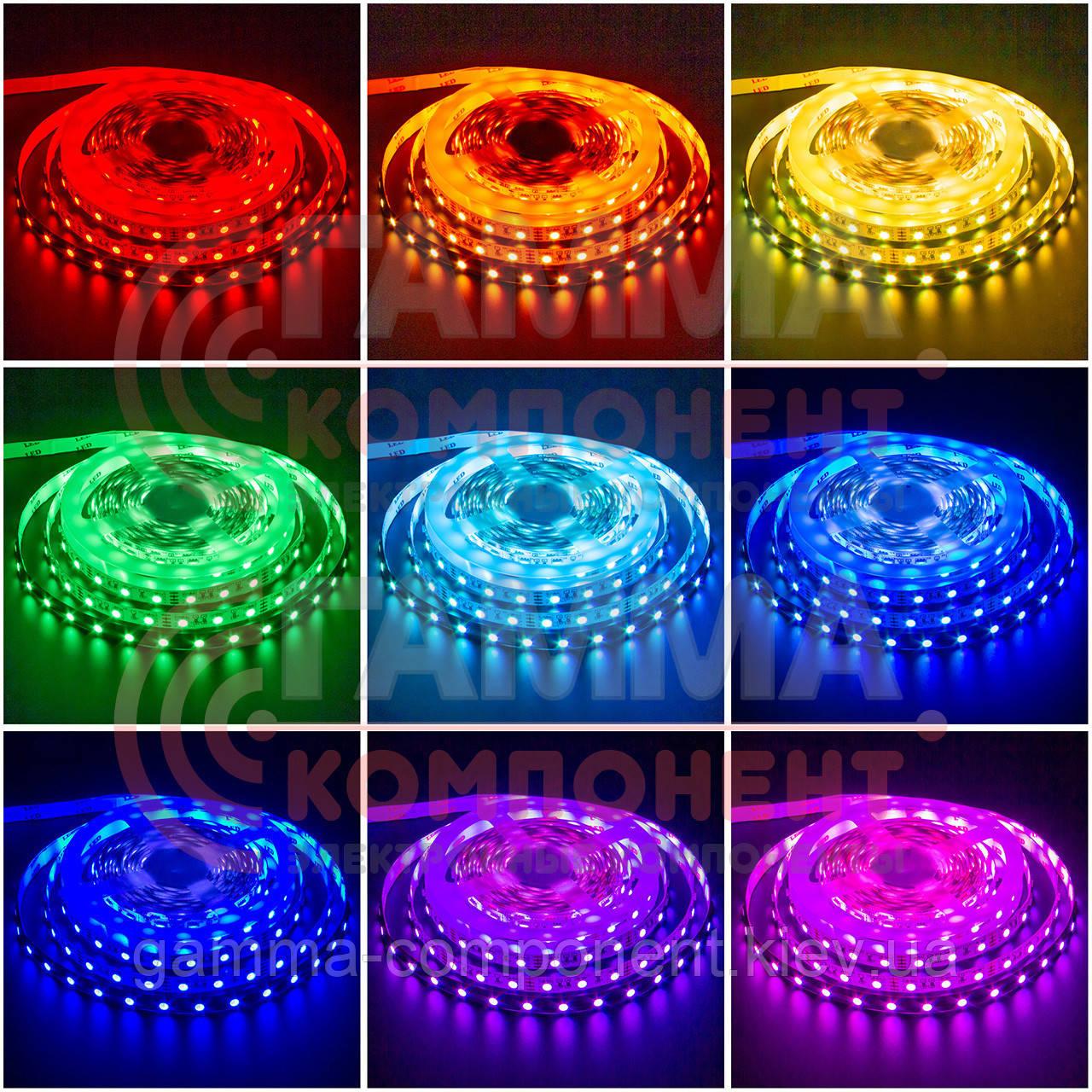 Светодиодная лента RGB AVT PROFESSIONAL SMD 5050 (60 LED/м), IP65, 12В - бобины от 5 метров
