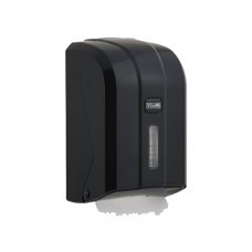 K6ZB Диспенсер листовой туалетной бумаги пластик черный