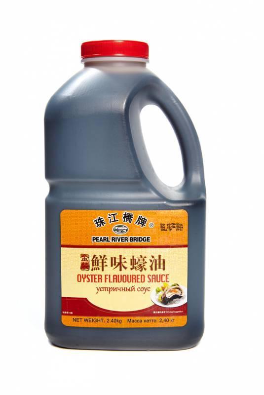 Устричный соус. Oyster sauce 1,9 л