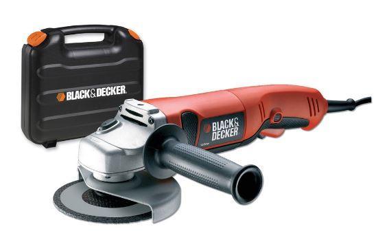 Болгарка (угловая шлифмашина) Black&Decker KG1200K (кейс в комплекте)