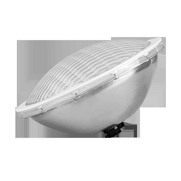 Светодиодная лампа для бассейнов PAR56 25 ватт одноцветная с нержавеющей стали