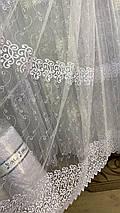 Красивая фатиновая тюль Турция IST-1154, фото 3