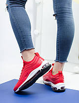 Женские кроссовки Nike Air Max 97 Red (36, 37, 38, 39, 40 размеры), фото 3