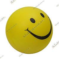 Эмоциональный Мячик - антистресс Смайлик (Smile) релаксант, фото 1