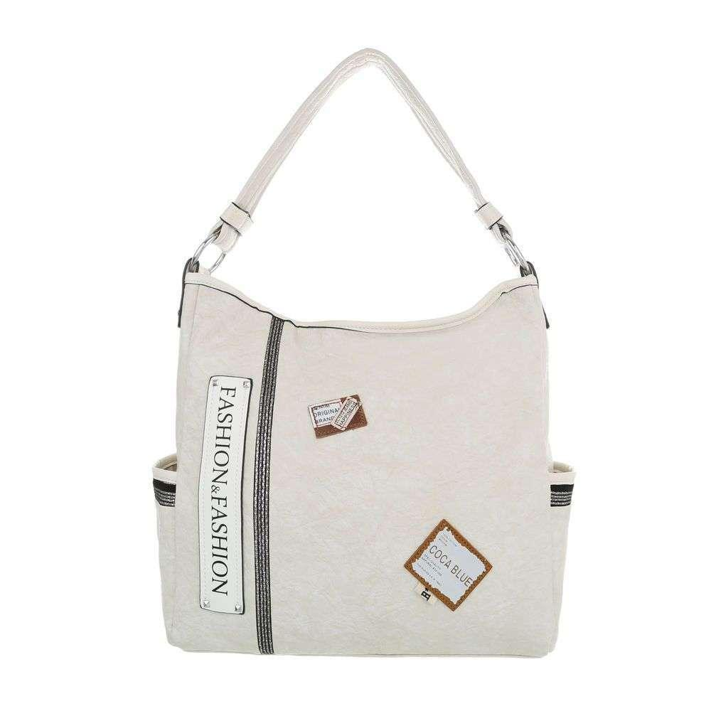 Женская сумка-бежевый - ТА-4135-136-бежевый