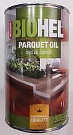 Защитное масло для паркета BIOHEL PARQUE OIL (паркетный масло-воск) 1 л.