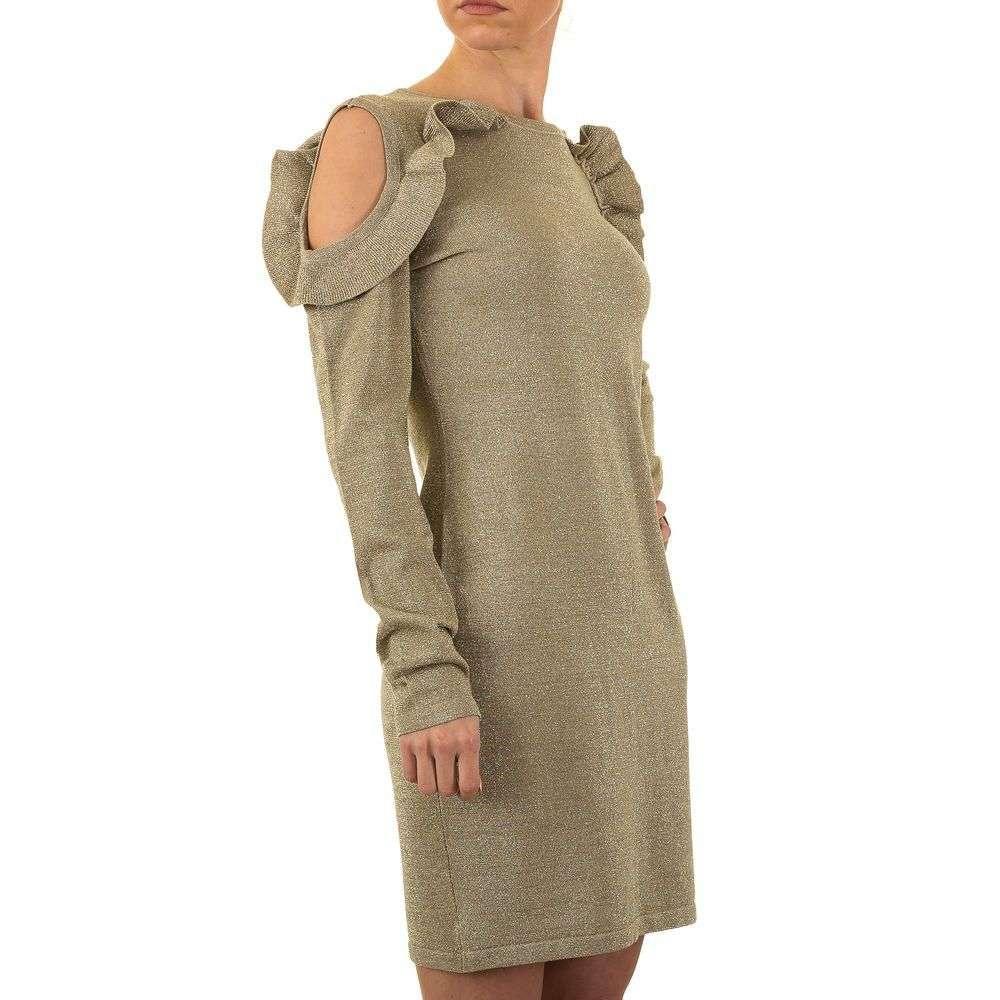 Женское платье от Emma&Ashley, размер one size - золото - KL-8882-золото