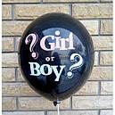 Шарики для Gender party мальчик или девочка с конфетти, фото 4