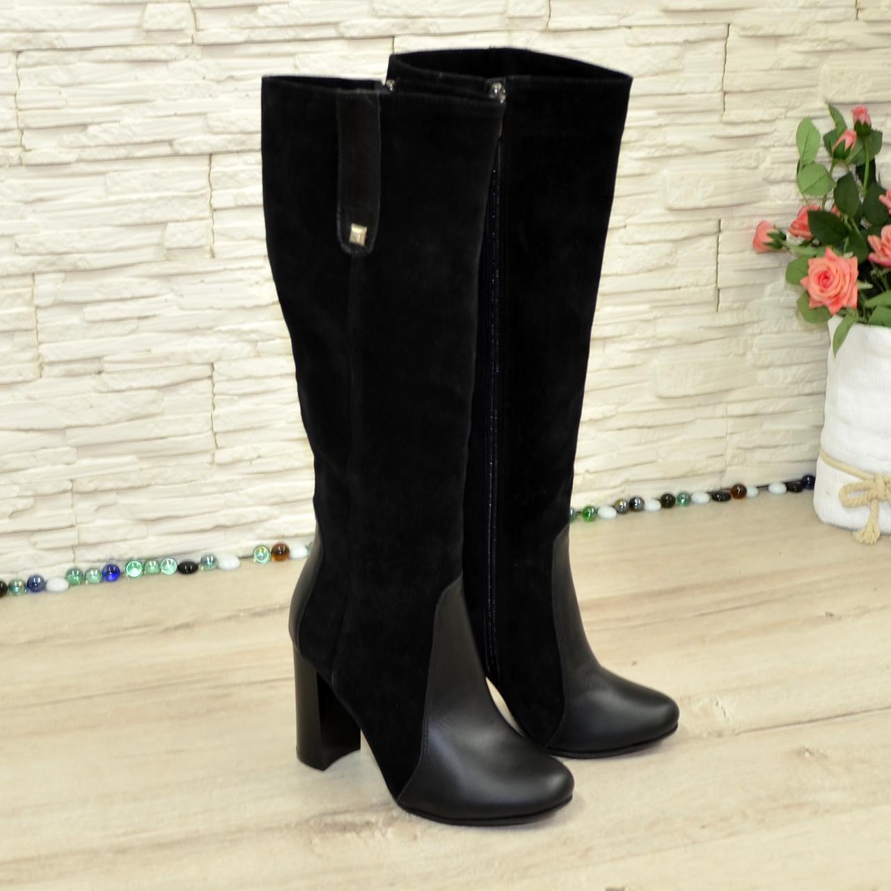 ca2ef7b2a 37 размер, фото 3 Женские зимние сапоги на устойчивом каблуке, цвет черный. 37  размер, фото 4
