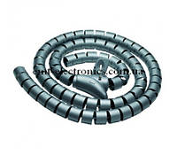 Спиральная оплётка (кабельный бандаж) 15,0мм, 1м.