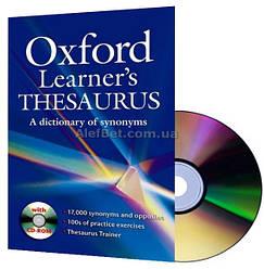 Oxford Learner's Thesaurus / Словарь английского языка / Oxford