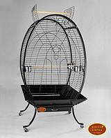 Вольер для крупных попугаев A28(Золотая клетка) 89х60х159 см