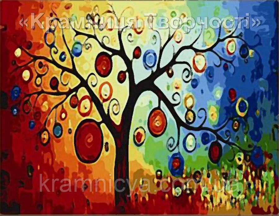 "Картина по номерам ""Денежное дерево"" (MG230, КН230), 40х50см."