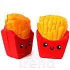 Мягкая игрушка Сквиши Squishy антистресс  Картошка Фри №3, фото 3