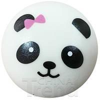 Мягкая игрушка Сквиши Squishy антистресс  Панда Панда с розовым бантом №10