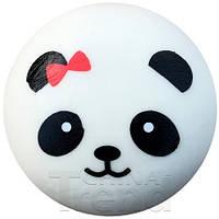 Мягкая игрушка Сквиши Squishy антистресс  Панда Панда с красным бантом №6