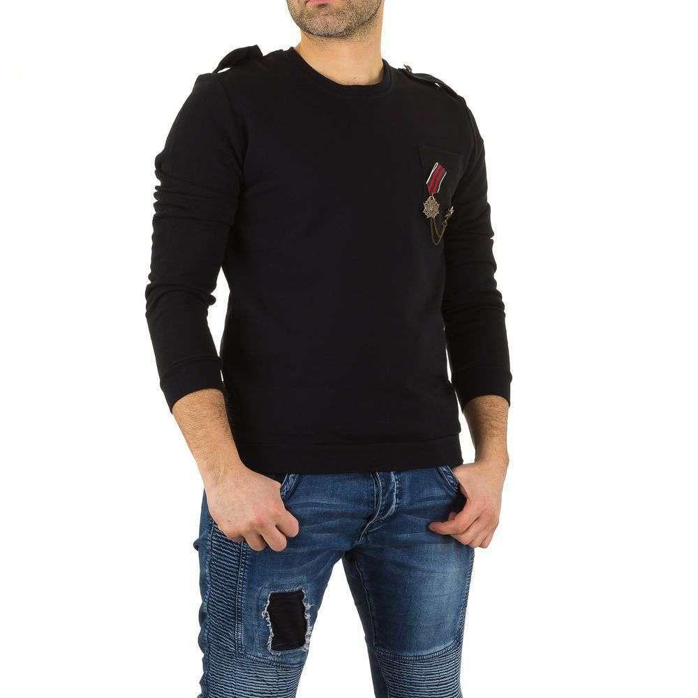 Мужская толстовка с Uniplay - black - KL-H-1607-черный