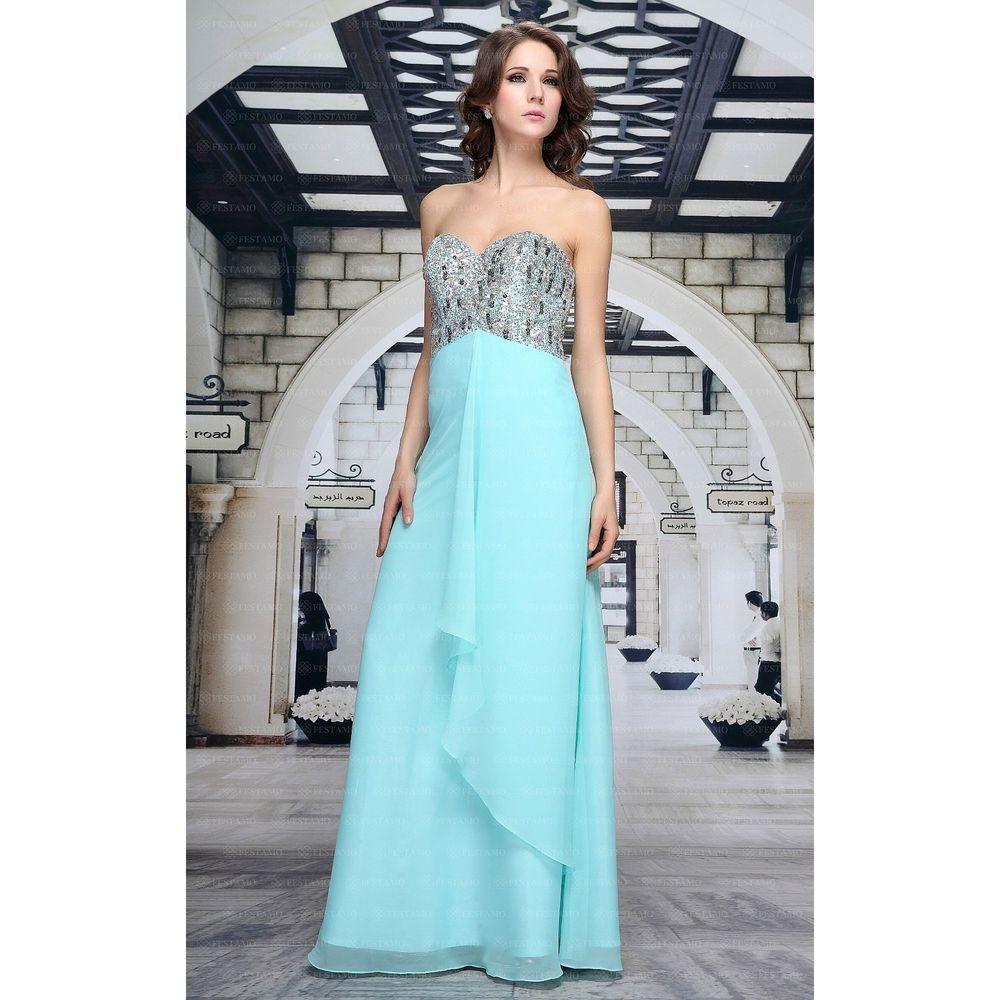 Женское платье от Festamo, размер 44 - синий - Мкл-F1343-синий 44