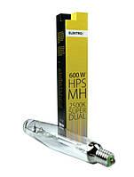 Лампа Elektrox SUPER DUAL MH+HPS lamp 600W