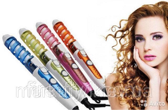 Спиральная плойка для укладки волос NOVA (Нова)