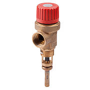 """Предохранит. клапан температуры и давления 3/4 6 бара """"Icma"""" №266"""