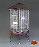 Вольер для птиц B01(Золотая клетка) 88х88х186 см