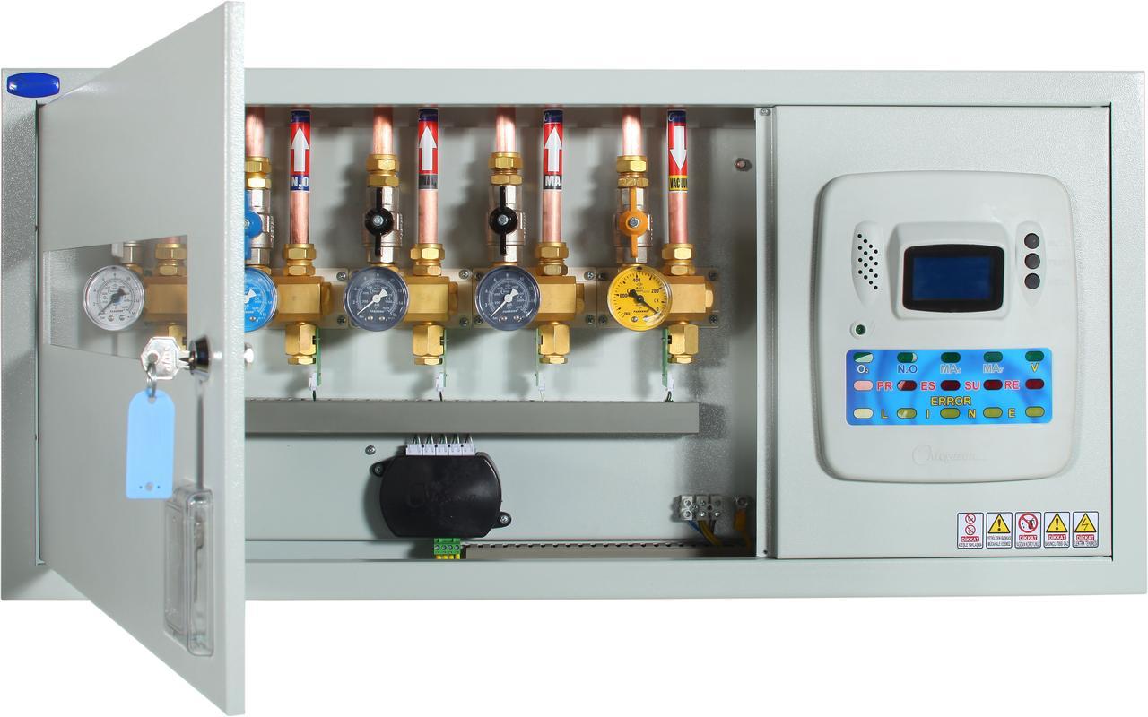 Модуль контроля и сигнализации медицинских газов