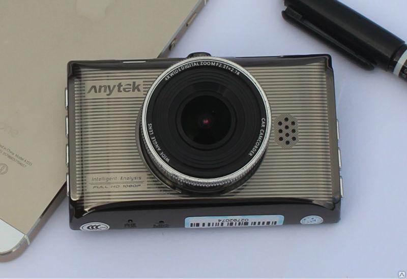 Авторегистратор стильный в машину Anytek X6 металлический видеорегистратор