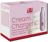 Баллончики iSi Cream Chargers для сливок N2O, 10 шт в упаковке (601-0079)