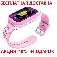 Детские смарт часы Smart Baby Watch ds28 смарт картон часы телефон GPS трекер детский телефон с кнопкой сос, фото 1