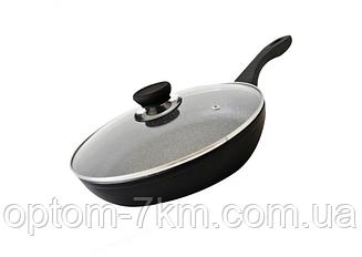 Алюминиевая сковорода с антипригарным покрытием Wimpex WX 2405 am
