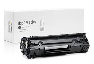 Картридж Canon i-Sensys LBP151dw (чёрный) совместимый, стандартный ресурс (2.400 копий) аналог от Gravitone