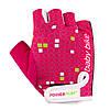 Велорукавички PowerPlay 5451 Рожево-білі XS, фото 5