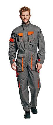 Комбинезон рабочий Desman мужской демисезонный серый 48-50рр, фото 2