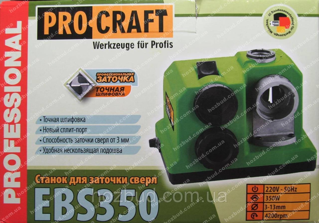 Заточний верстат для свердел Procraft EBS 350