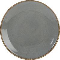 Тарелка обеденная 24 см Porland Seasons Dark Grey