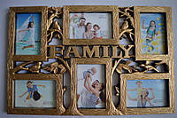 Рамка коллаж 1816 Family  6 фото