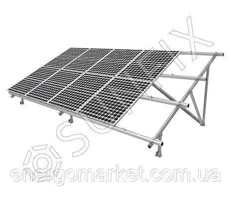 Алюминиевая наземная конструкция для солнечных панелей type-V