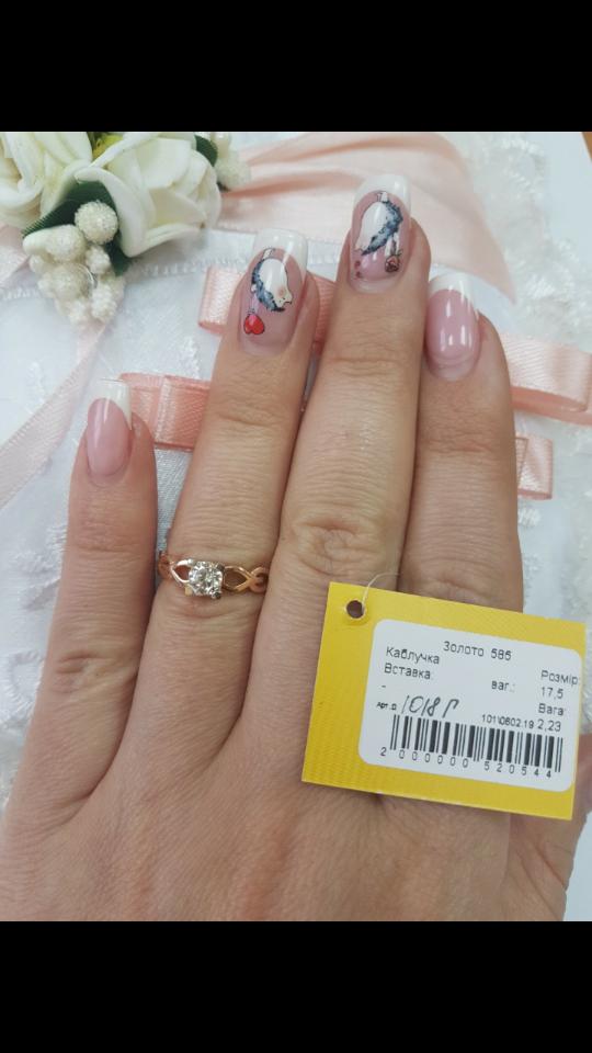 Женское золотое кольцо